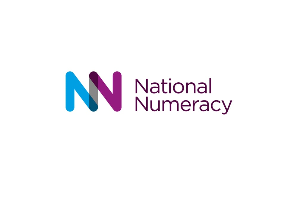 National Numeracy charity brand, logo design