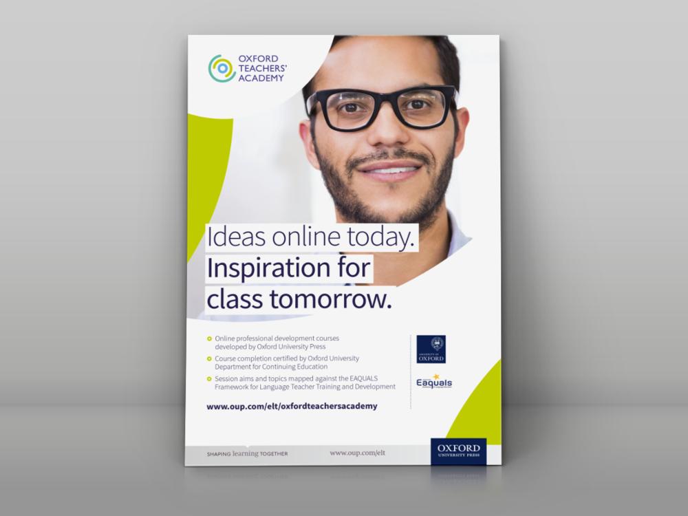 Oxford Teachers' Academy Press Advertising View work