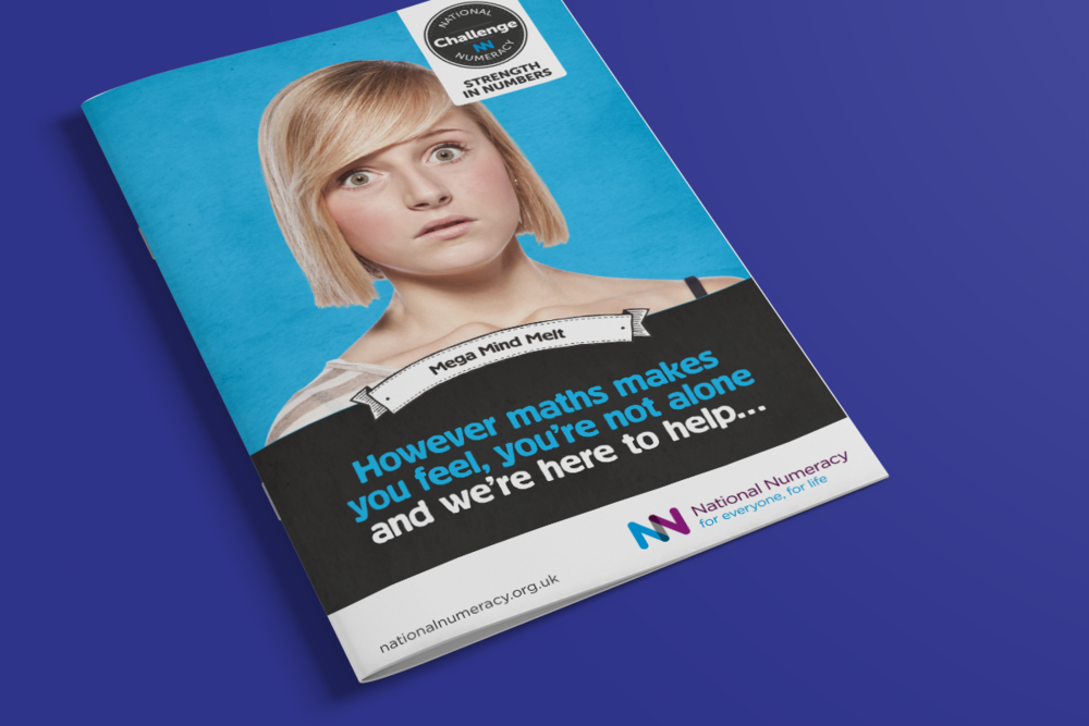 National Numeracy Challenge brochure cover