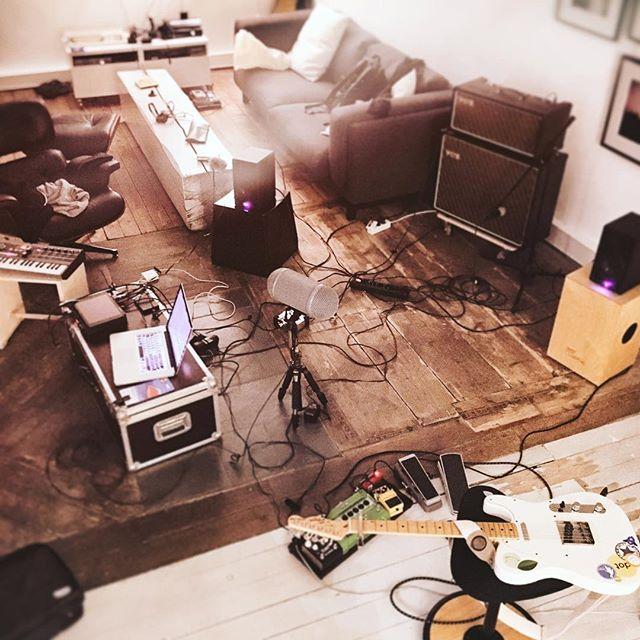 last nights session setup.