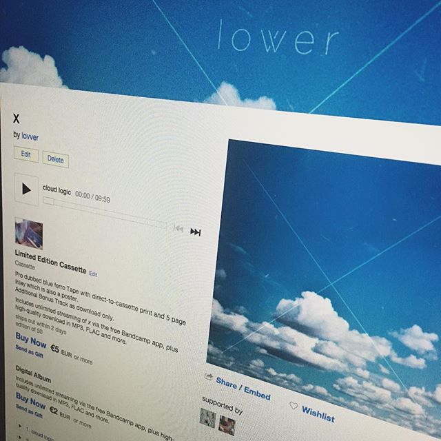 lovver - x. Out on #bandcamp now! Check www.lovver.wtf