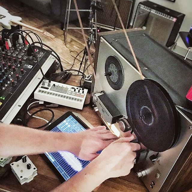 We're creating #tapeloops for a show next week.