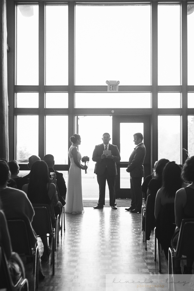 Daybreak Start Seattle Wedding Ceremony