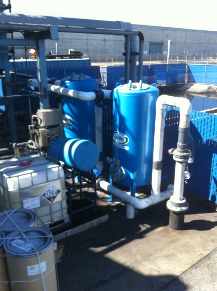 City of Long Beach Filtration Unit
