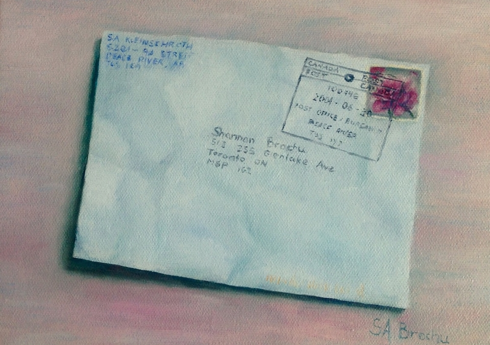 A letter from the past