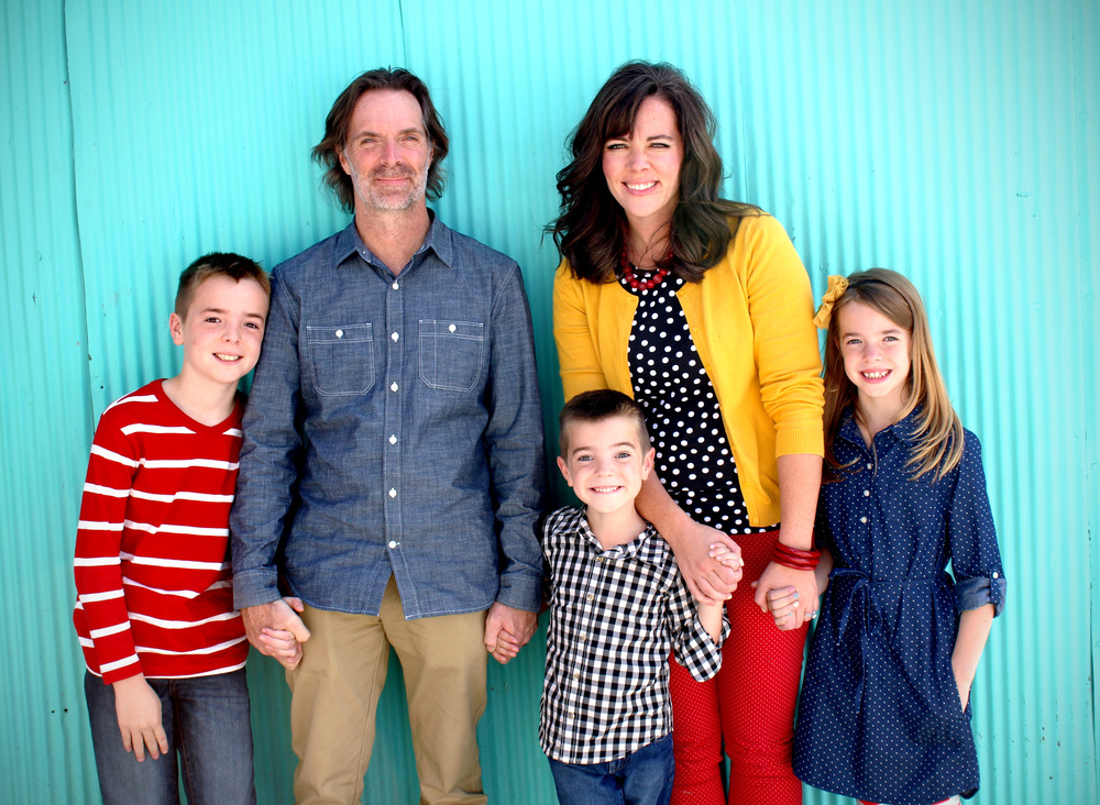 These are my people. Our clothing is color-coordinated. There is a first (and last) for everything!