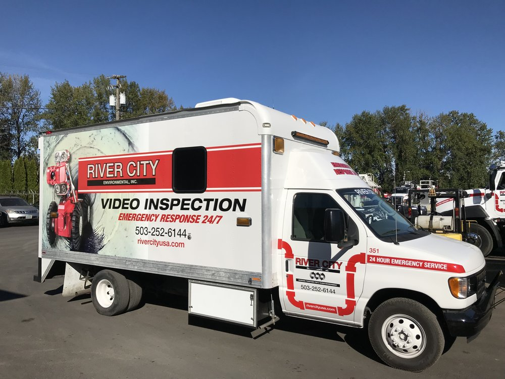 River City Environmental Video Inspection Septic and Sewer, Portland, Oregon