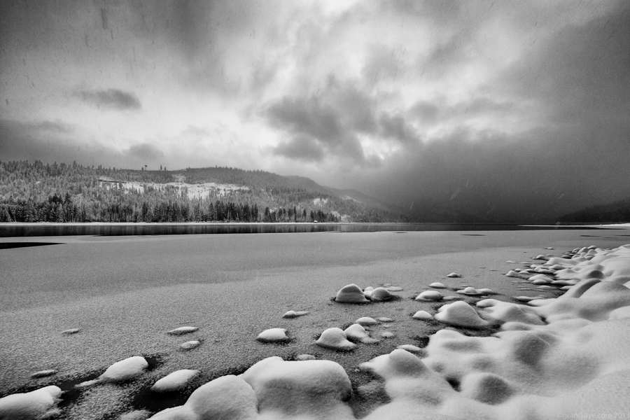 Winter at Donner Lake