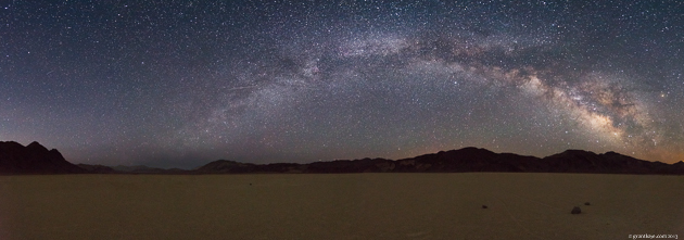 Racetrack Milky Way Pano