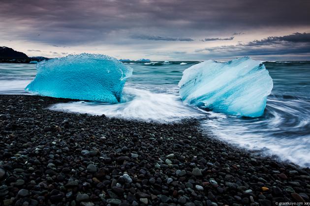 Jökulsarlón, Breiðamerkursandur, Iceland