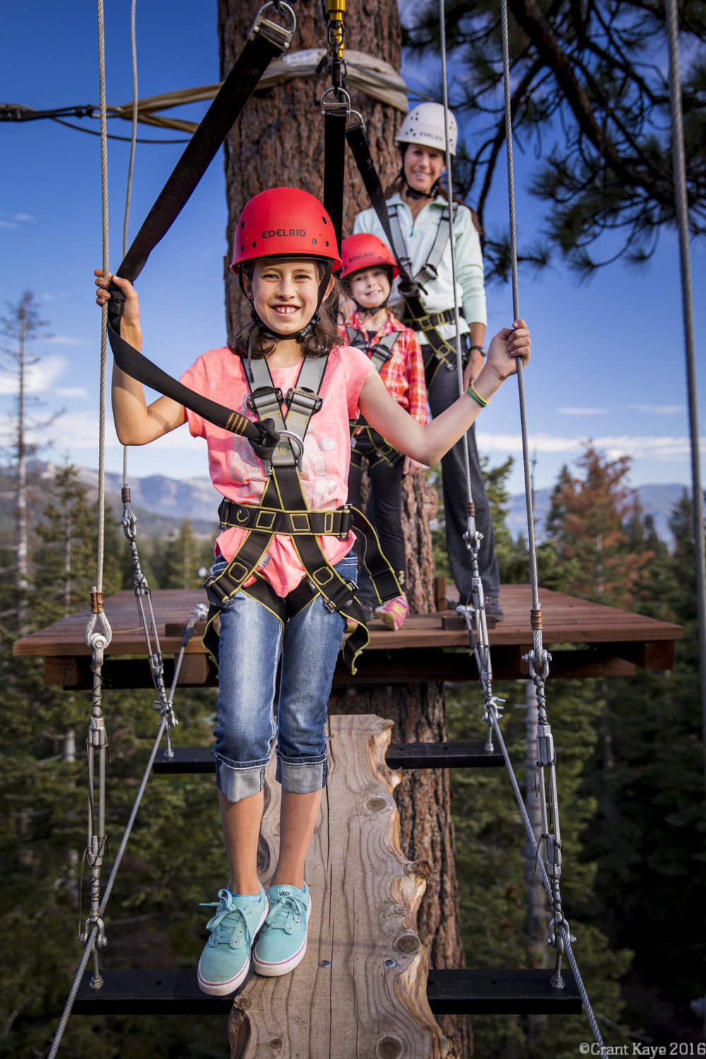 TreeTop Ropes Course, Tahoe Vista