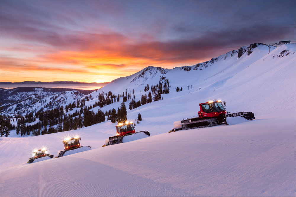Dawn Patrol, Squaw Valley / Alpine Meadows