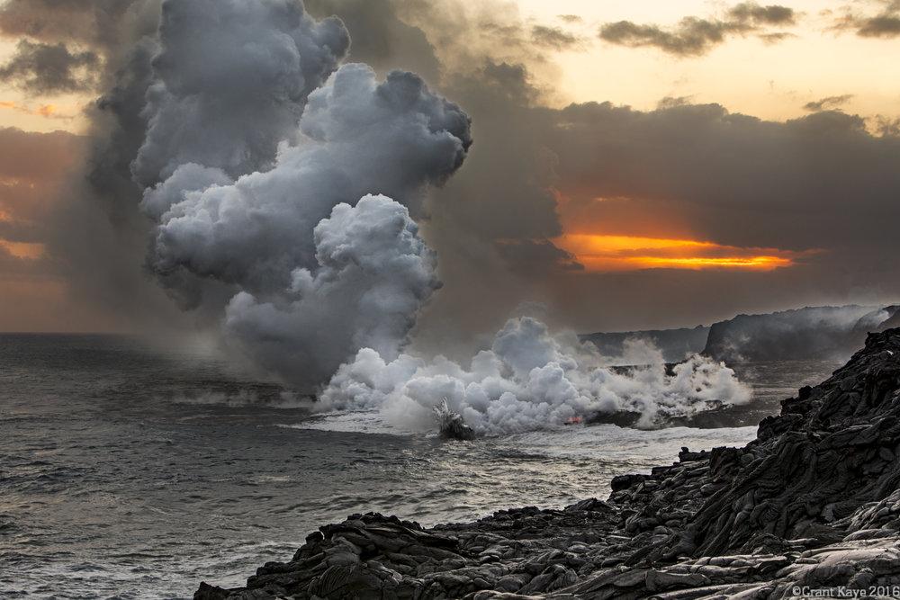 Kamokuna Ocean Entry