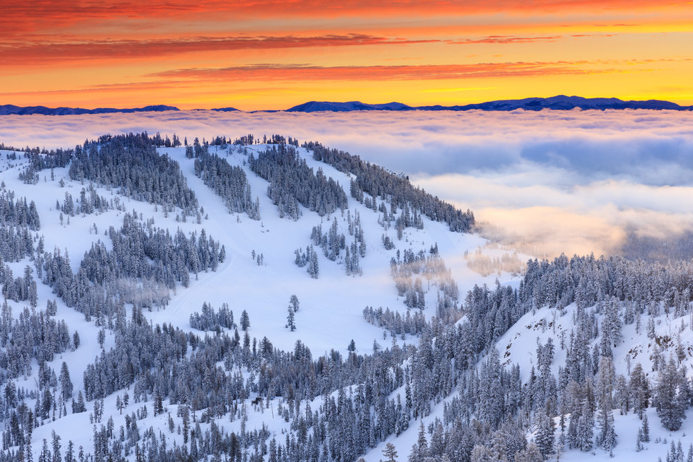 Alpine Meadows Sunrise
