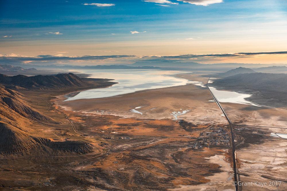 Gerlach, Nevada and the Black Rock Desert in Flood