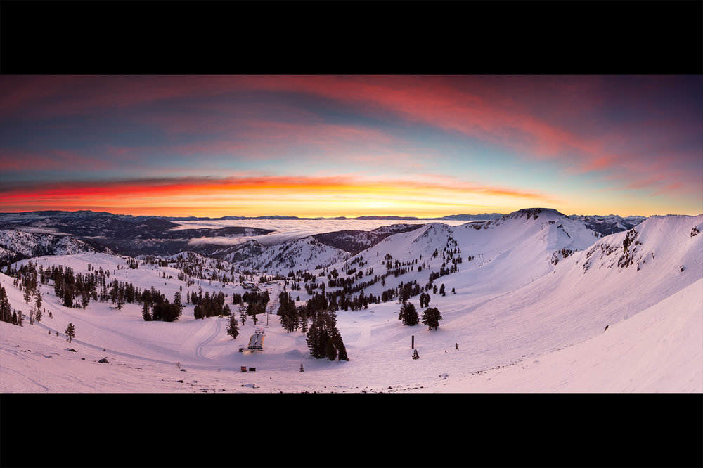 Emigrant Sunrise, Squaw Valley USA