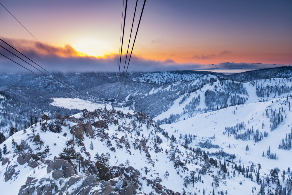 Tram Cable Sunrise, Squaw Valley