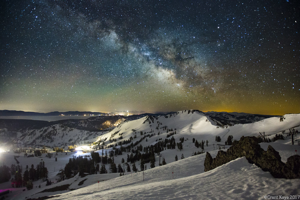 Palisades Milky Way, Squaw Valley USA