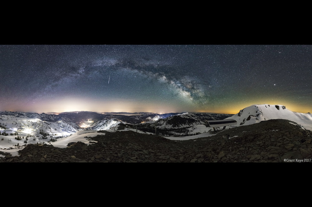 Headwall Milky Way