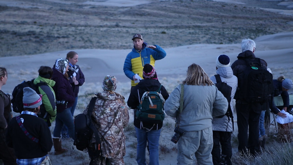 Grant Teaching Landscape Astrophotography at Shooting the West in 2017