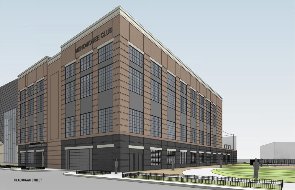 Proposed Menomonee Club building