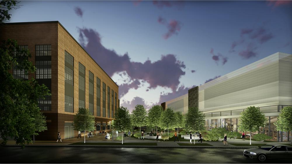 Rendering of proposed Blackhawk Park