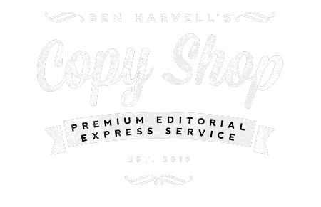Ben Harvell's Copy Shop