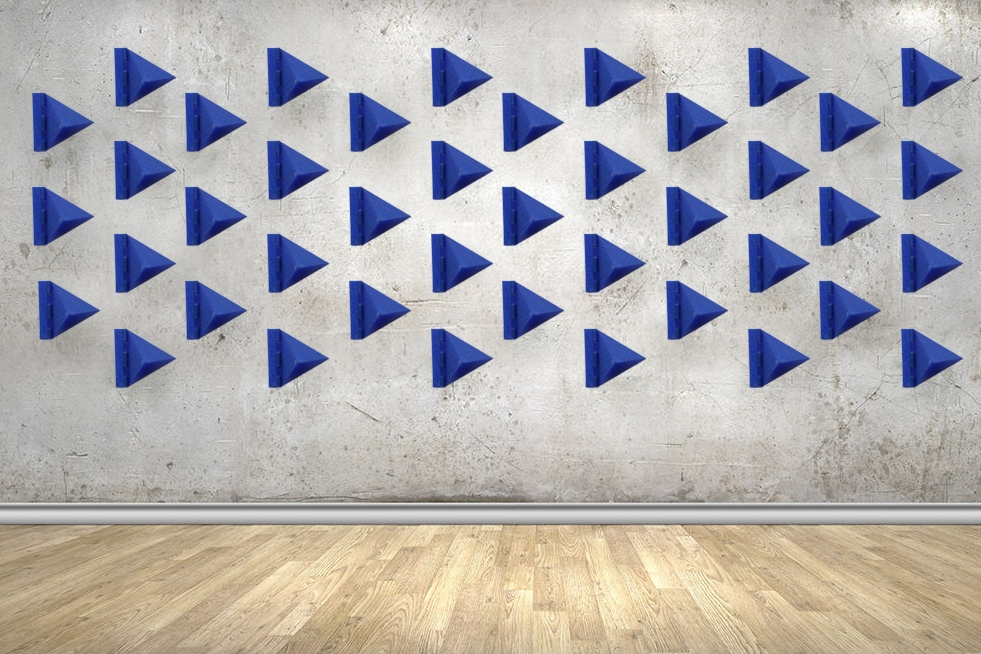 Breathe, A Kinetic Wall Installation - 3D Modeling & Printing   Programming