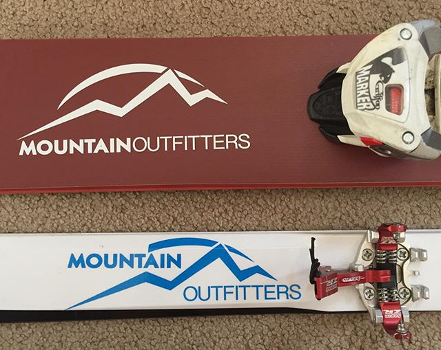 Big skis or little skis, I just love to ski. @mtn_outfitters_breck #justsendityoupussy #sploosh