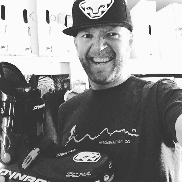 Who has two thumbs and some sexy new boots? #thisguy. Big thanks to @mtn_outfitters_breck for indulging my gear needs and for keeping that @ffej_cloudkicker guy around for his excellent boot fitting and managerial skills. #skiuphill @dynafit #sploosh #dyna