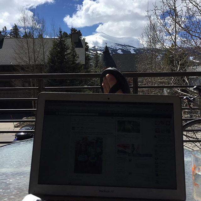 Spring? #selfemploymentaintbad #powdereights #justfuckingsendit