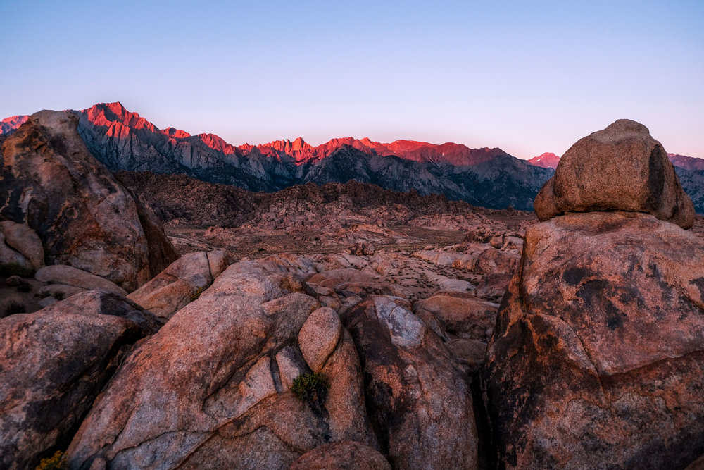 Peak bagging in SoCal - A prep for Mt. Whitney by E. Pirez
