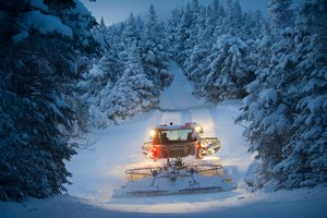 Skilled grooming helps make the most of all the snow that falls.
