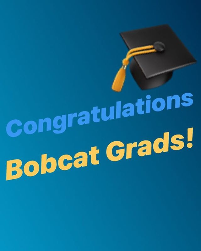 Midtown would like to say congratulations to our newest bobcat alum! Come celebrate your huge accomplishment AND Cinco De Mayo with us on this special evening #margaritatime #gocats #graduation