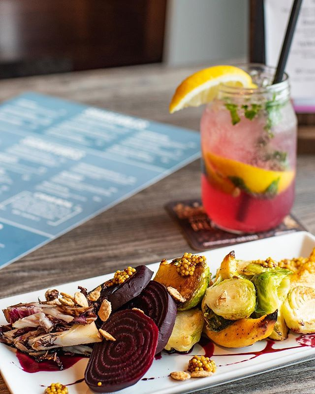 We think it's safe to say that summer is finally at our doorstep (knock on wood). So come on in and enjoy some light summer food and drink like our Roasted brussel sprout app and signature MT Cooler! #summertime #andthelivingseasy #mttavern