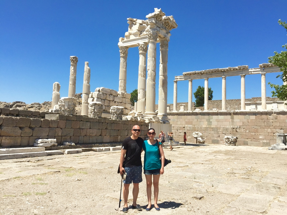 THE HAPPY TRAVELLERS in Pergamon
