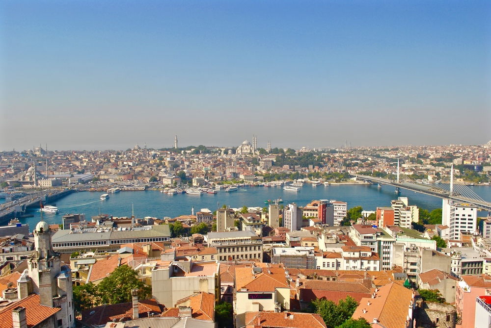 View from Galata Tower Observation Deck