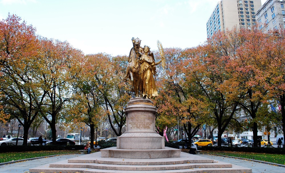 General William Tecumseh Sherman Statue in Grand Army Plaza