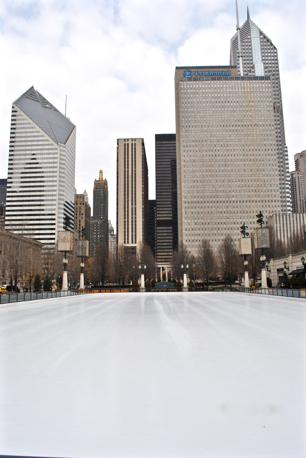 Millenium Park Ice Skating
