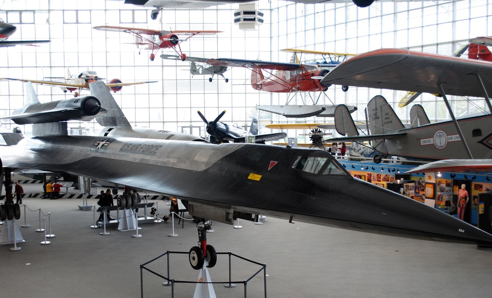 Lots of plane replica on display