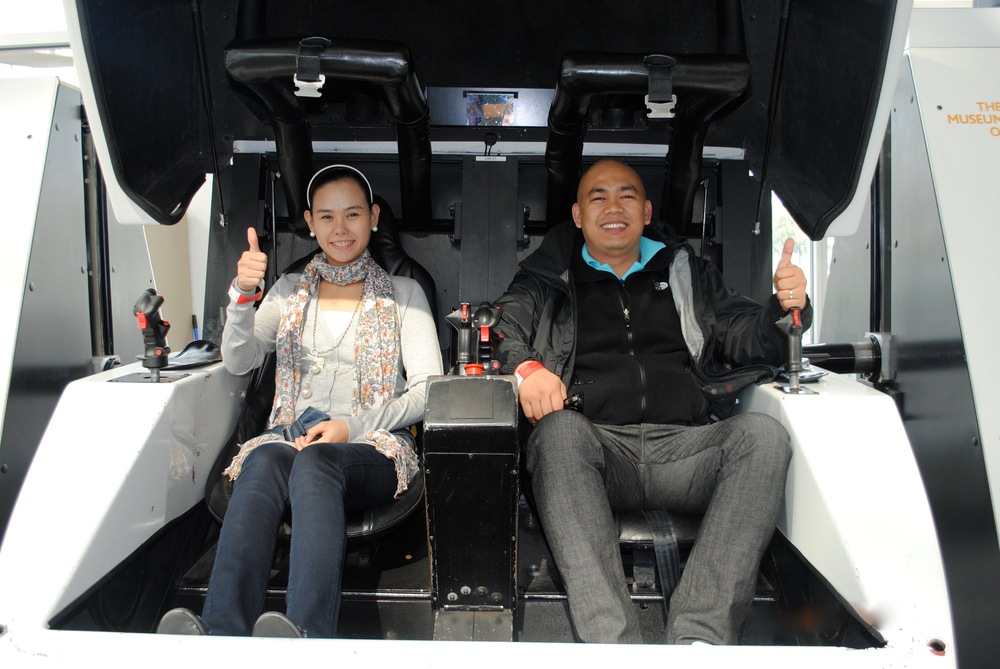 THE HAPPY TRAVELLERS on flight simulator