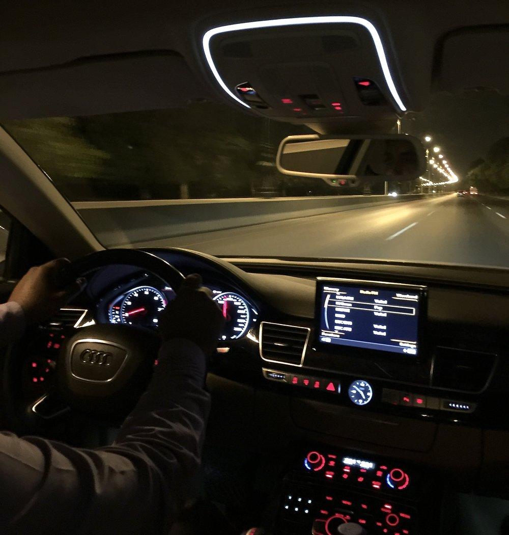Audi A8 (Shangri-La Muscat)
