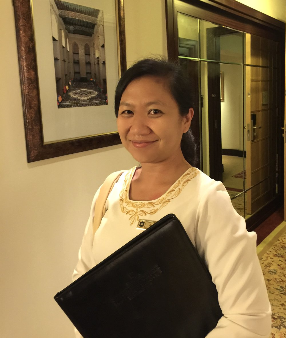 Al Husn - Front Desk Staff, Elizabeth (Shangri-La Muscat)