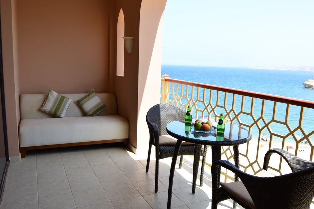 Al Husn Deluxe Sea View Room (Shangri-La Muscat)