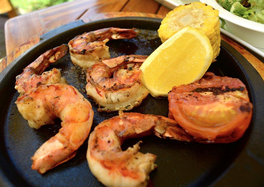 Grilled Prawns (Shangri-La Muscat)
