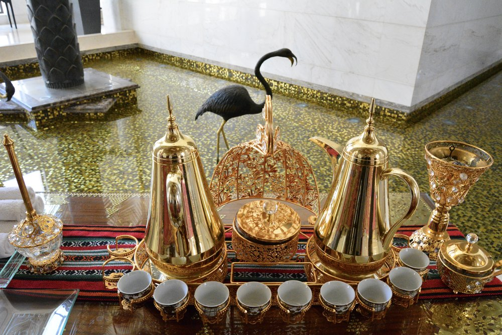 Ghawa Coffee and Local Dates (Shangri-La Muscat)