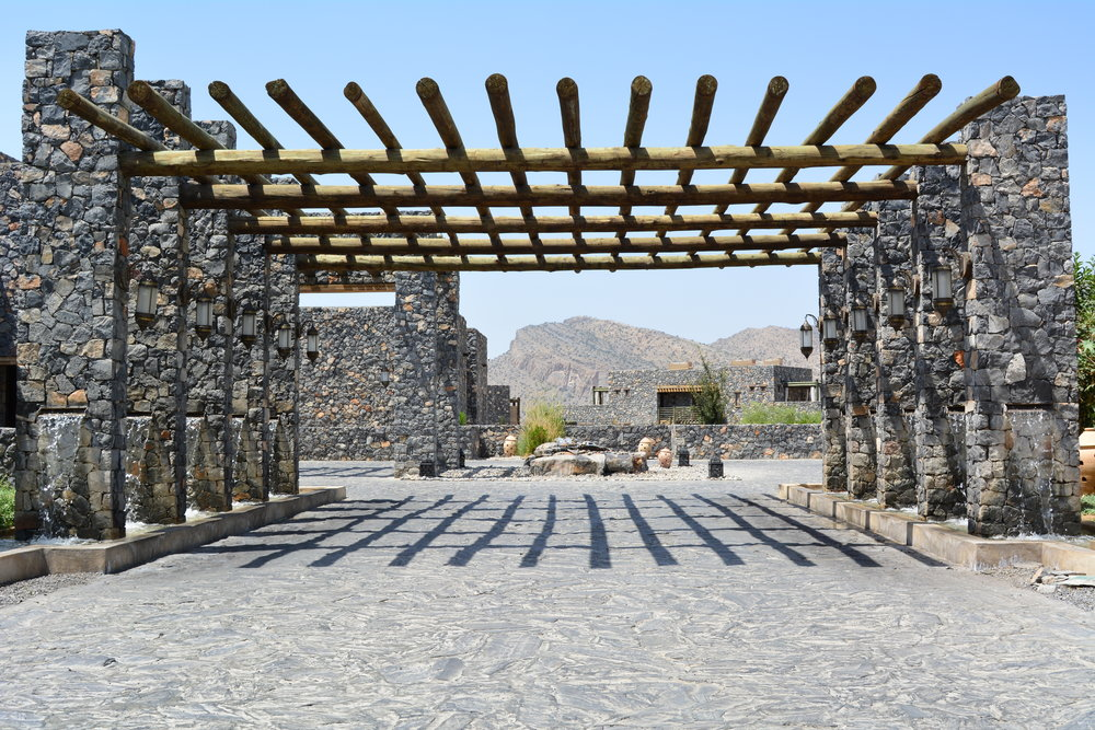 Archway (Alila Jabal Akhdar)