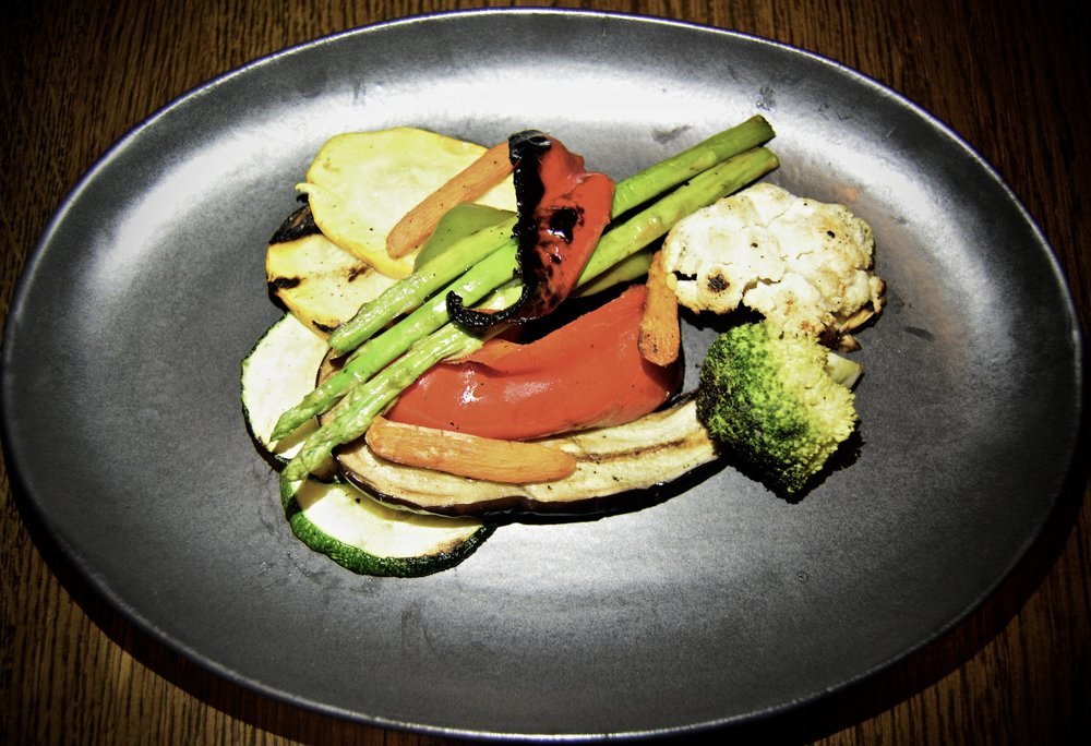 Grilled vegetables  (Alila Jabal Akhdar)