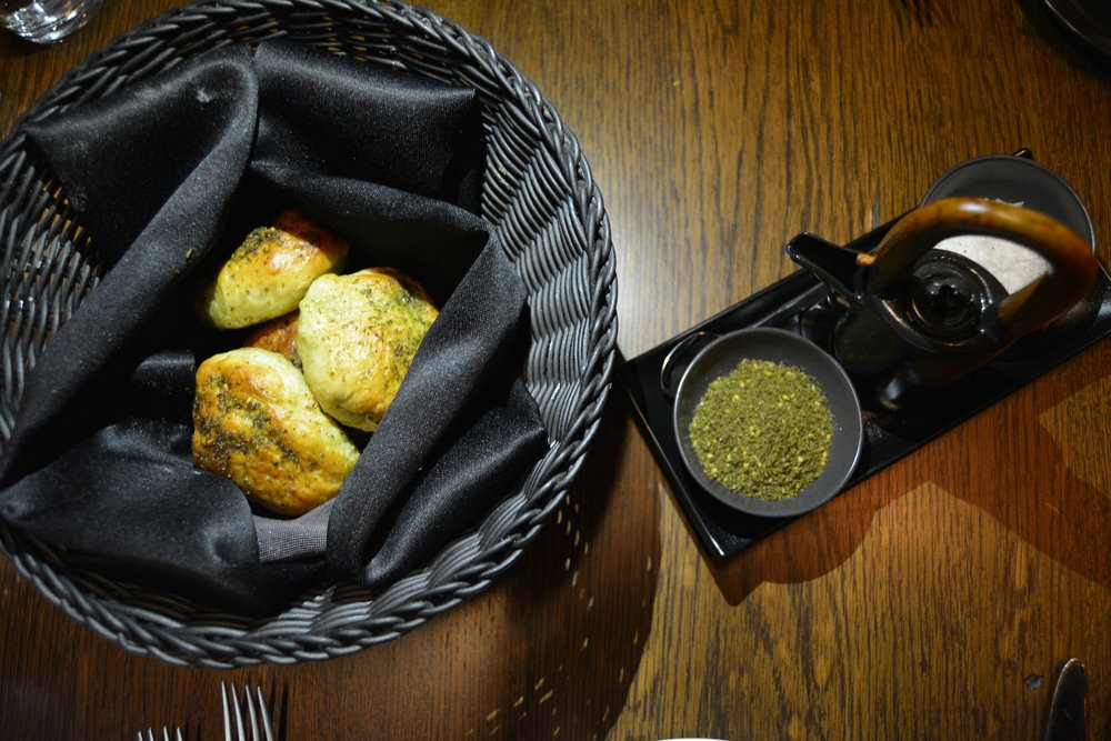 Basil bread  (Alila Jabal Akhdar)