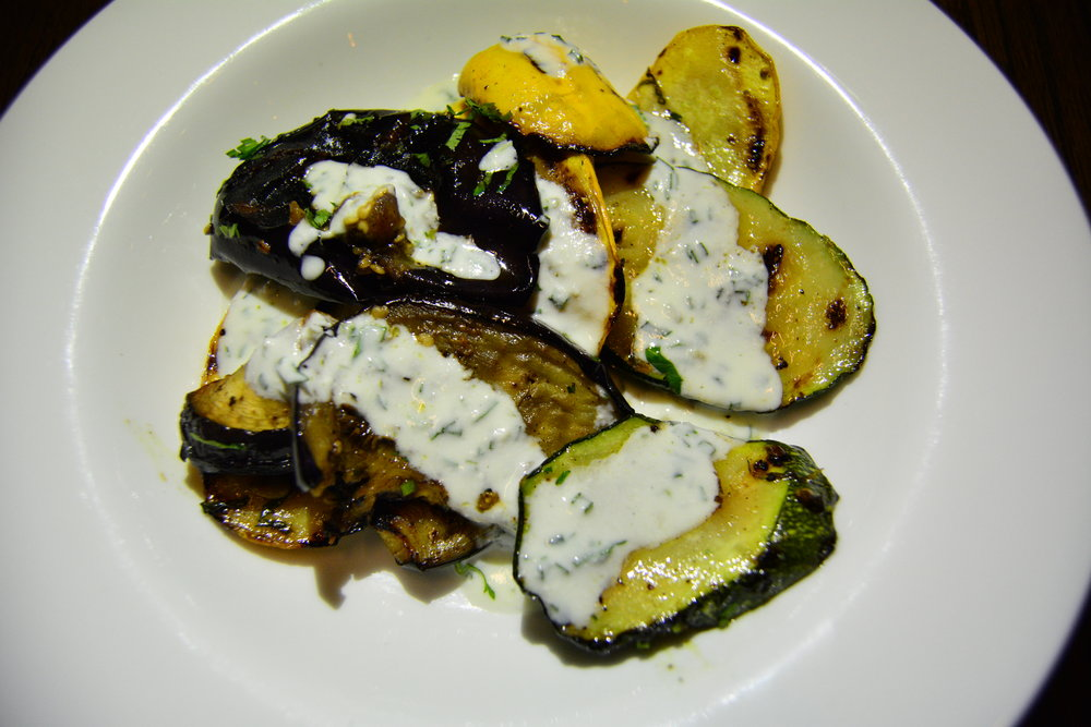 Roasted eggplant and zuchinni  (Alila Jabal Akhdar)